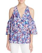 Rebecca Minkoff Gabby Floral Top