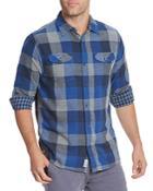 Flag & Anthem Benton Plaid Flannel Regular Fit Button-down Shirt