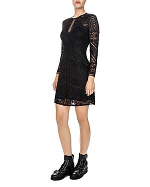 The Kooples Lace A-line Dress