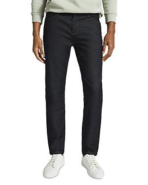 Reiss Car Slim Fit Jeans In Blue