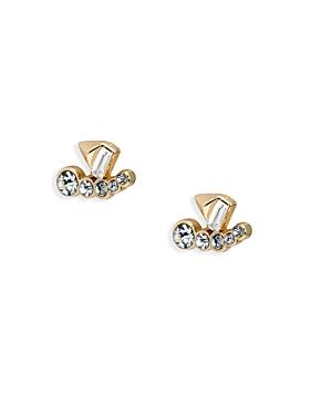 Abs By Allen Schwartz Embellished Stud Earrings