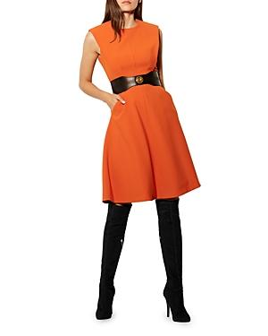 Karen Millen Paneled A-line Dress