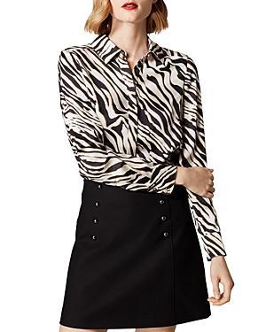 Karen Millen Zebra Print Blouse
