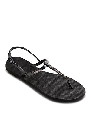 Havaianas Women's You Riviera Swarovski Crystal Thong Sandals