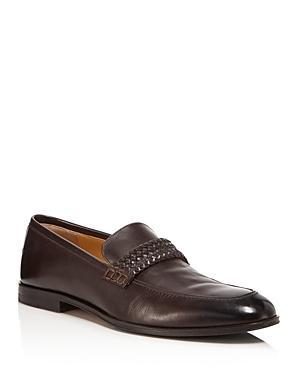 Bally Men's Werden Braid Strap Loafers