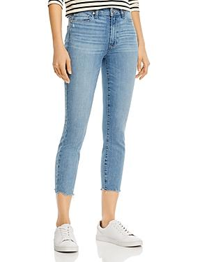 Paige Hoxton Cropped Skinny Jeans