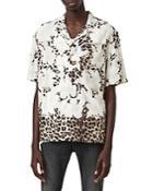 Allsaints Leopard Print Shirt