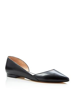Marc Fisher Ltd. Sunny Pointed Toe D'orsay Flats