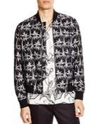 Ps Paul Smith Palm Print Bomber Jacket