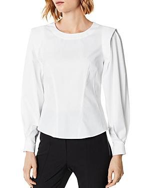 Karen Millen Blouson-sleeve Tailored Top