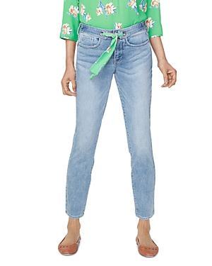 Nydj Alina Scarf-tie Jeans