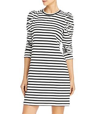 Rebecca Minkoff Talia Cotton Puff-sleeve Dress