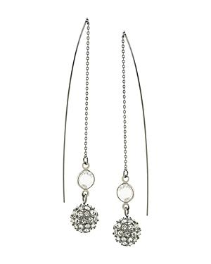 Abs By Allen Schwartz Threader Earrings