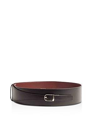 Karen Millen Women's Wide Leather Belt