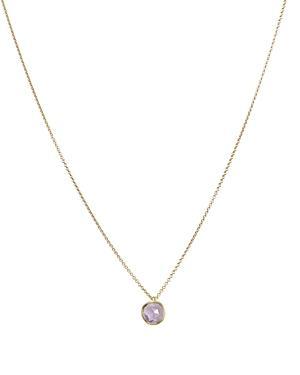 Marco Bicego 18k Gold & Amethyst Delicati Pendant Necklace, 16.5