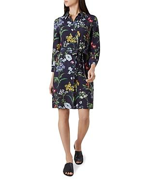 Hobbs London Marianne Floral Print Shirt Dress