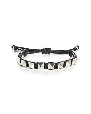 Valentino Garavani Studded Cord Bracelet