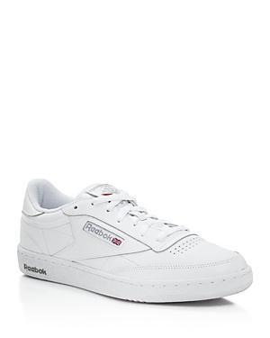 Reebok Men's Classic Club C 85 Low Top Sneakers