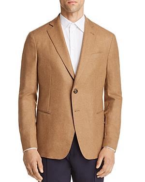 Emporio Armani Wool-cashmere Regular Fit Sport Coat