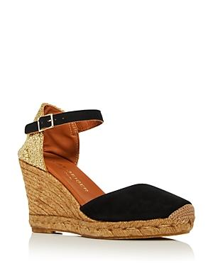 Kurt Geiger Women's Monty Espadrille Wedge Sandals