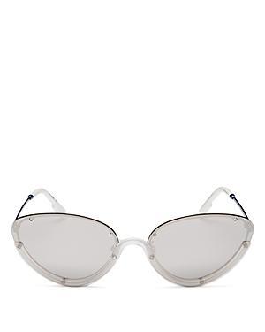 Kenzo Unisex Cat Eye Sunglasses, 62mm