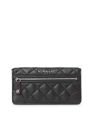Mz Wallace Crosby Slim Continental Wallet