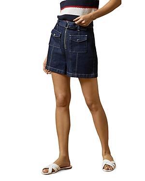 Ted Baker Shortan Belted Denim Shorts