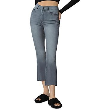 Dl1961 Bridget High Rise Cropped Bootcut Jeans In Overcast Rain