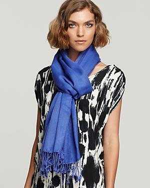 Collection 59 Solid Large Pashmina Scarf, 29.5 X 86