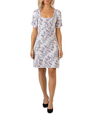 Belldini Snake Print Sweater Dress