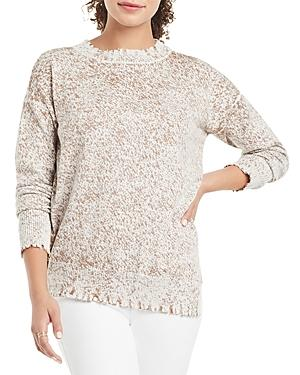 Nic+zoe Bespeckle Crewneck Sweater