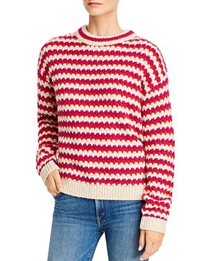 Rebecca Minkoff Katherine Waved-stripe Sweater