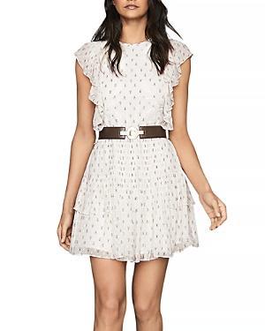 Reiss Valerie Ruffled Dress