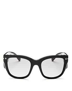 Valentino Square Sunglasses, 51mm