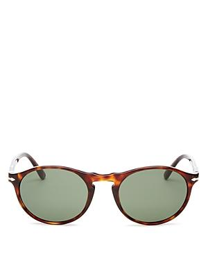 Persol Men's Round Sunglasses, 54mm