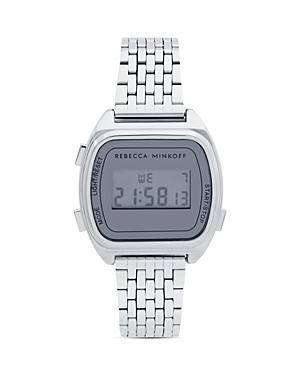 Rebecca Minkoff Digital Link Bracelet Watch, 34mm