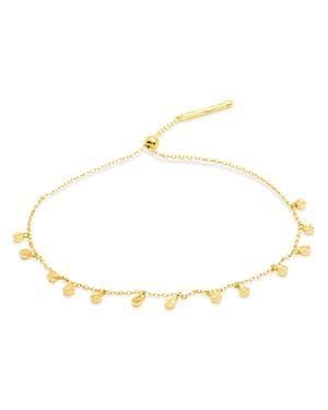 Gorjana Chloe Adjustable Disc-charm Bracelet
