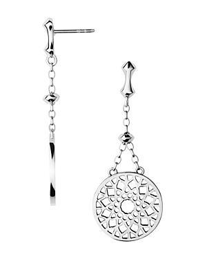 Links Of London Sterling Silver Timeless Drop Earrings
