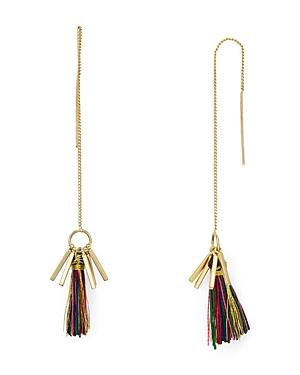 Rebecca Minkoff Tassel Threader Earrings