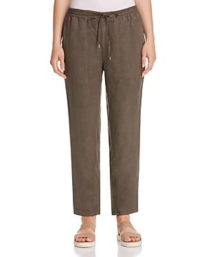 Eileen Fisher Petites Drawstring Ankle Pants