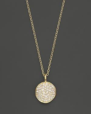 Ippolita 18k Yellow Gold Stardust Flower Pendant Necklace With Diamonds, 18