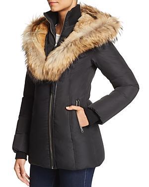 Mackage Akiva Fur-trim Short Down Jacket