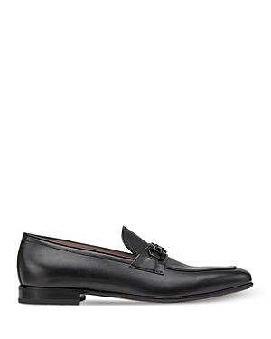Salvatore Ferragamo Men's Renomoon Plus Double Gancini Leather Loafers - Regular