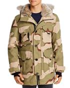Lacoste Camo Aop Down Jacket - 100% Exclusive