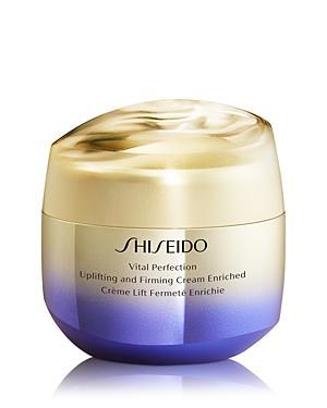 Shiseido Vital Perfection Uplifting & Firming Cream Enriched 2.6 Oz.