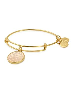 Alex And Ani Words Are Power Expandable Wire Bangle