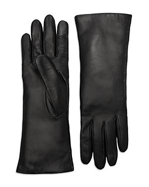 Theory Leather Tech Gloves