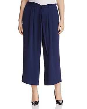 Michael Michael Kors Plus Tie-waist Gaucho Pants