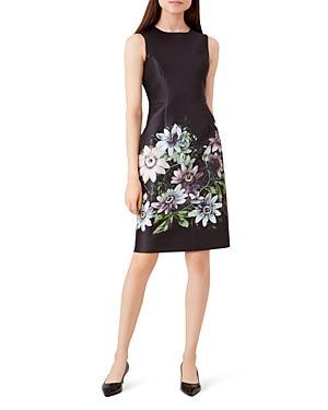 Hobbs London Passiflora Satin Shift Dress