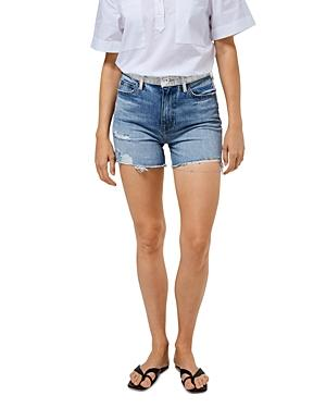 Jonathan Simkhai Leo High Rise Denim Shorts